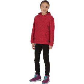 Regatta Khrissa Fleece Hoody Kids British Blush/Beetroot
